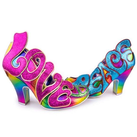 Irregular Choice Choose Love Heels New in Box 39